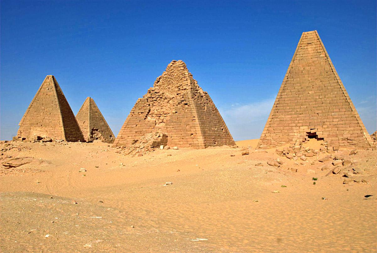Jebel Barkal Pyramids South Sudan