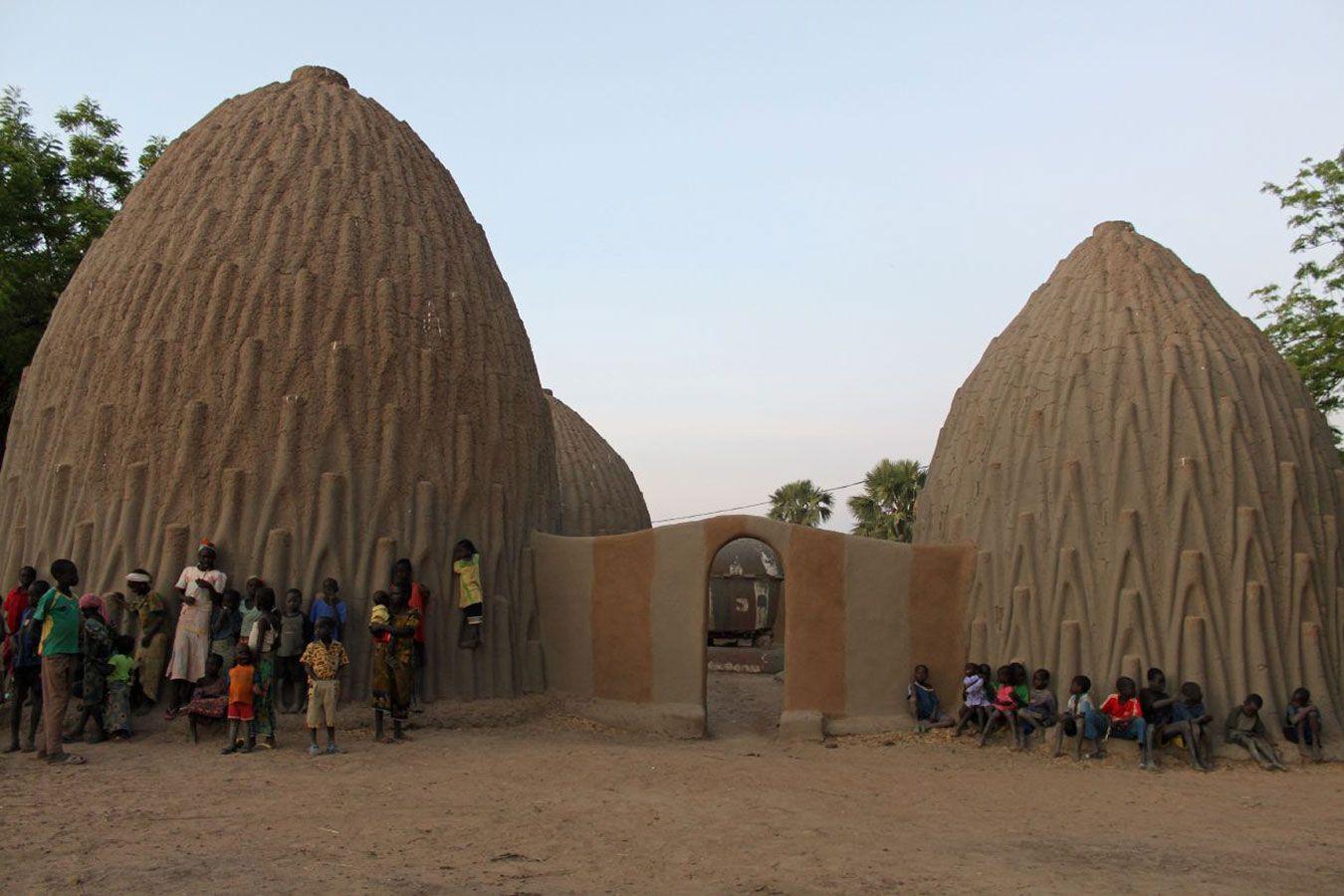 Musgum Dwellings Cameroon